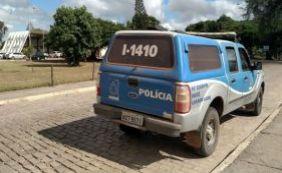 [Bandidos utilizam viatura da polícia para fugir de delegacia em Morro do Chapéu]