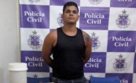 [Homem é preso com mais de quatro quilos de drogas em Juazeiro]