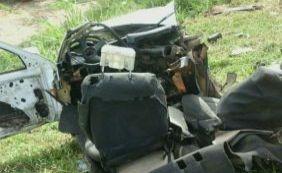 [Colisão entre dois veículos deixa um morto e cinco feridos na BR-116]