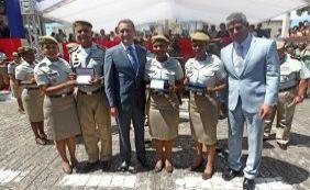 [Nova turma de Soldados da PM dá destaque às mulheres em cerimônia em Salvador]