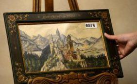 [Pinturas de Hitler foram leiloadas por 391 mil euros ]