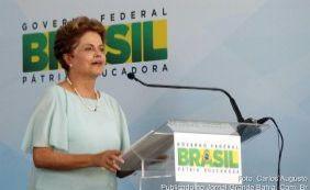 """[Dilma entrega casas em Feira e critica gravações da PF: """"É crime"""" ]"""