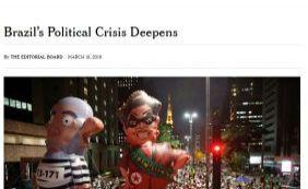 [The New York Times ataca Dilma e diz que nomeação de Lula foi