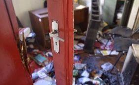 [PT tem sede arrombada e equipamentos danificados em Belo Horizonte ]