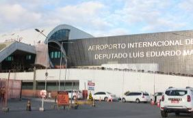 """[""""Primeira capital a ligar o Centro ao Aeroporto"""", diz Rui sobre o Metrô ]"""