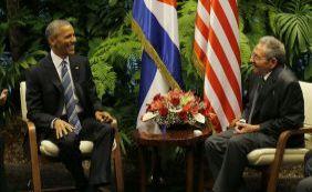 [Presidente de Cuba pede fim do embargo em reunião histórica com Obama]