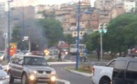 [Manifestantes promovem toque de recolher na região da Avenida Vasco da Gama]