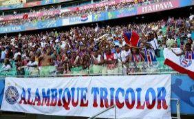 [Bahia faz promoção de ingressos e apresentação de reforço na quarta-feira]