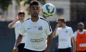 [Zagueiro Werley, que atuou no Santos em 2015, estaria próximo do Bahia]