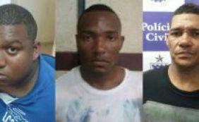 [PC divulga identidade dos três homens que assaltaram caminhão na Barra]