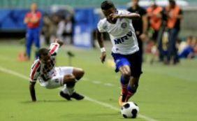 [Bahia marca no fim e vence o Santa Cruz por 1 a 0; Tricolor avança no Nordestão]