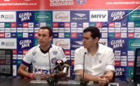 [Bahia apresenta atacante Thiago Ribeiro, o mais novo reforço para 2016]