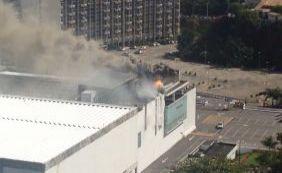[Incêndio atinge restaurante do Shopping da Bahia nesta quinta-feira ]