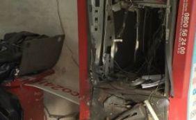 [Moradores de Nova Brasília são prejudicados por explosão de caixa eletrônico]