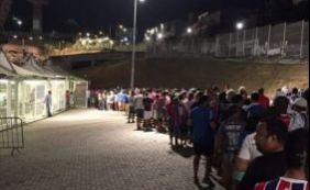 [Após confusão com entrada de torcedores, Bahia estende promoção na Arena]