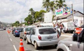 [Motorista espera cerca de 30 minutos para embarcar no ferry em Salvador]