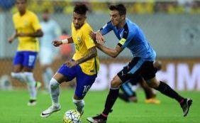 [Brasil vacila e cede o empate em 2 a 2 para o Uruguai na Arena Pernambuco]