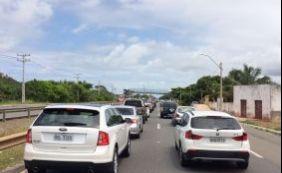 [Com movimento intenso nas estradas, motorista espera até 2h no ferry]