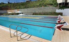 [Solenidade vai marcar entrega da nova piscina olímpica nesta segunda-feira]