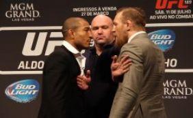 [UFC: José Aldo fratura costela e luta contra McGregor pode ser adiada]