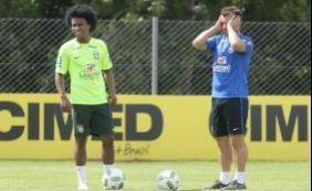 [Pressionado no cargo, Dunga não terá Neymar, hoje, contra o Paraguai]