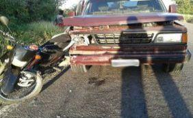 [Motociclista morre após ser atropelado e arrastado por 20 metros na BR-030]