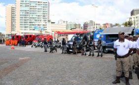 [Aniversário de Salvador: polícia amplia efetivo para garantir mais segurança]
