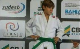 [Falta de patrocínio pode prejudicar carreira de jovem judoca baiano]