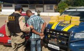 [Homem de 29 anos é preso com mais de 46kg de maconha na BR-116]