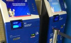 [Máquinas para recargas de cartões entram em operação no metrô]