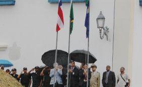 [Com hasteamento de bandeiras, Cachoeira vira sede do governo pelo oitava vez]