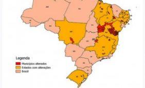 [IBGE divulga mapa que altera limites em 113 municípios baianos]
