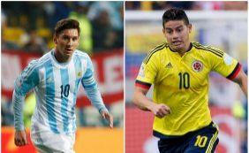 [Colômbia e Argentina duelam pelas quartas da Copa América; ouça boletins]