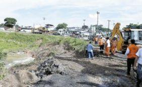 [Cerca de 150 famílias deixam casas após alagamento em Pirajá]