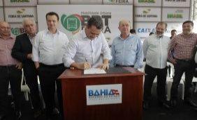 [Rui Costa autoriza início das obras do BRT em Feira de Santana]