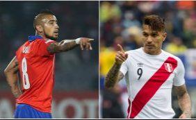 [Chile e Peru decidem primeira vaga na final da Copa América; ouça boletins]