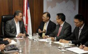 [Governador recebe missão chinesa e busca investimentos de R$ 50 bi]