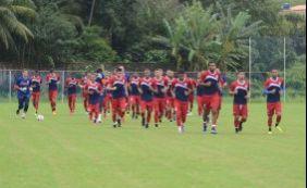 [Ba-Vi: Bahia realiza treinamento visando clássico no sábado]