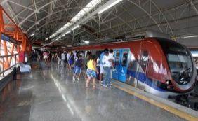 [Metrô de Salvador não vai funcionar no feriado do 2 de julho]