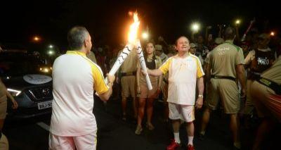 Bahia: Tocha olímpica encerra percurso no estado em Paulo Afonso