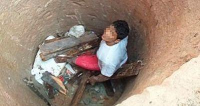 Suspeito de tráfico cai em cisterna de 5m em tentativa de fuga