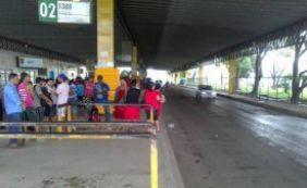 [Após Mussurunga e Lapa, rodoviários fecham terceira estação em Salvador]