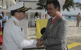 [Rui Costa é condecorado pela Marinha durante comemorações do Dois de Julho]