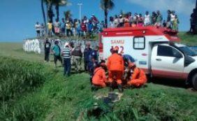 [Piloto que caiu de parapente no bairro Boca do Rio está em estado grave]