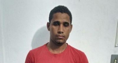 Jovem é preso após assaltar farmácia em Várzea do Poço