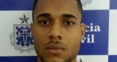 Jovem confessa duplo homicídio e é preso em Cosme de Farias