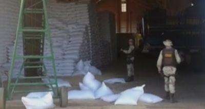 Homens invadem fazenda e roubam mil sacas de feijão na Bahia