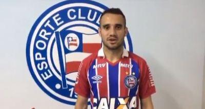 Bahia anuncia a contratação do atacante Maikon Leite