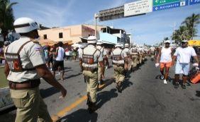 [Lavagem de Itapuã terá esquema especial de segurança com 700 policiais]
