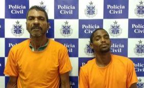 [Suspeitos de tráfico de drogas são presos na ladeira da Conceição da Praia]